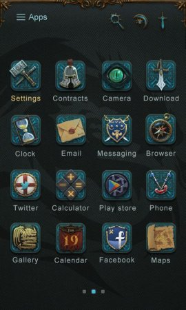 Dragon GO Launcher Theme
