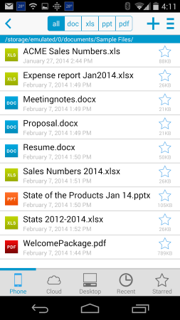 Docs To Go - Free Office Suite