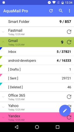 Aqua Mail - klient poczty
